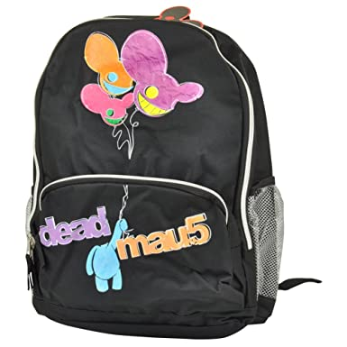 Amazon.com | International Deadmau5 Backpack Book Bag Balloons ...