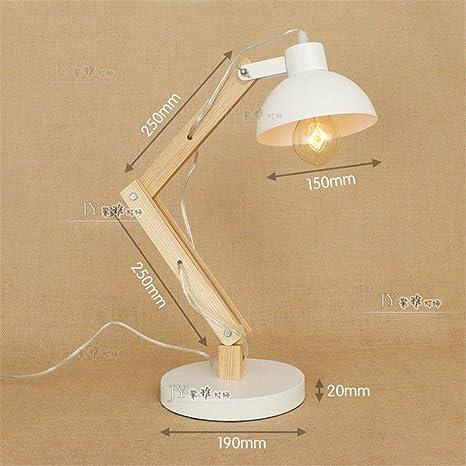 YU-K Lámpara de mesa moderna lámpara de mesa creativa ...