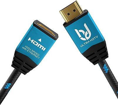 Ultra Hdtv 4k Hdmi Verlängerungskabel 3 Meter Premium Elektronik