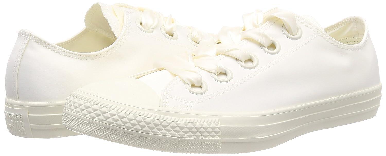 Converse Damen CTAS Big Eyelets OX 281) Egret Sneaker Beige (Egret/Egret/Egret 281) OX c4abca
