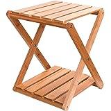 キャンプ 収納 ラック 棚 ガーデンラック 竹製