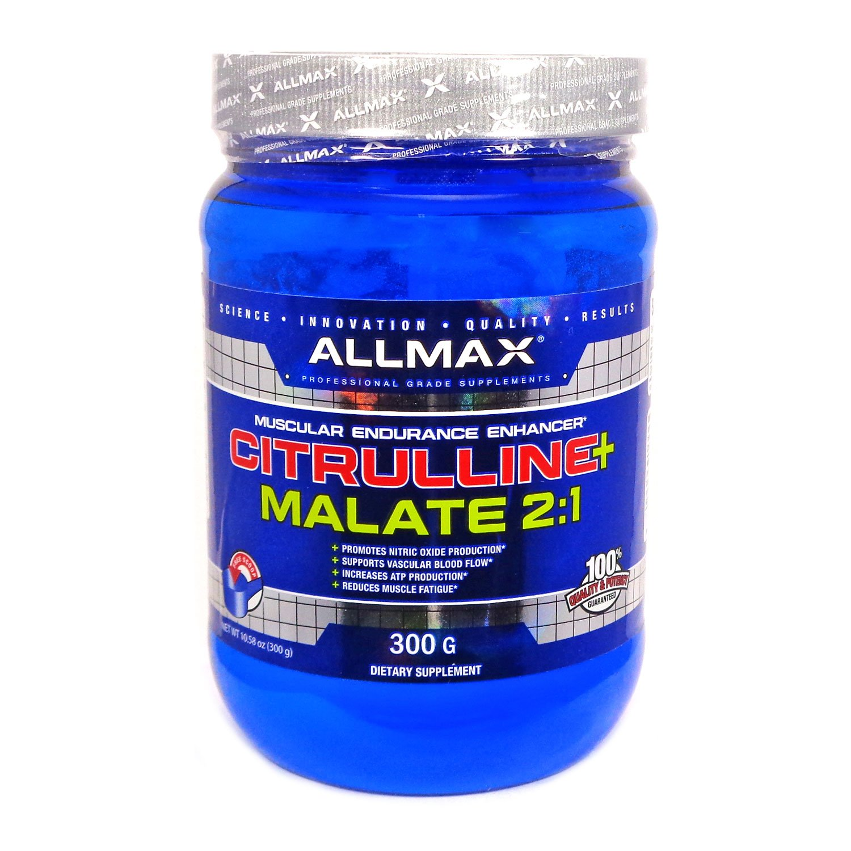 ALLMAX Nutrition Citrulline Malate 2 1 10 58 oz 300 g by ALLMAX NUTRITION (Image #1)