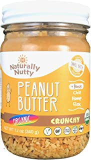 product image for Naturally Nutty Peanut Butter Organic (Organic Natural Crunchy, 12oz)