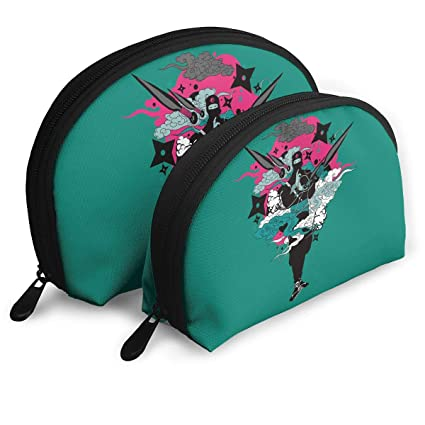 Amazon.com: Portable Shell Makeup Storage Bags Cool Japanese ...