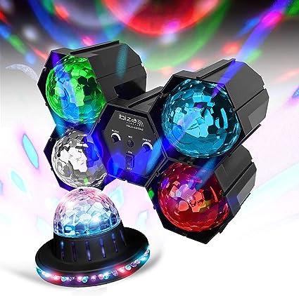Pack de luces infantiles para fiesta de DJ animación con LED RGB ...