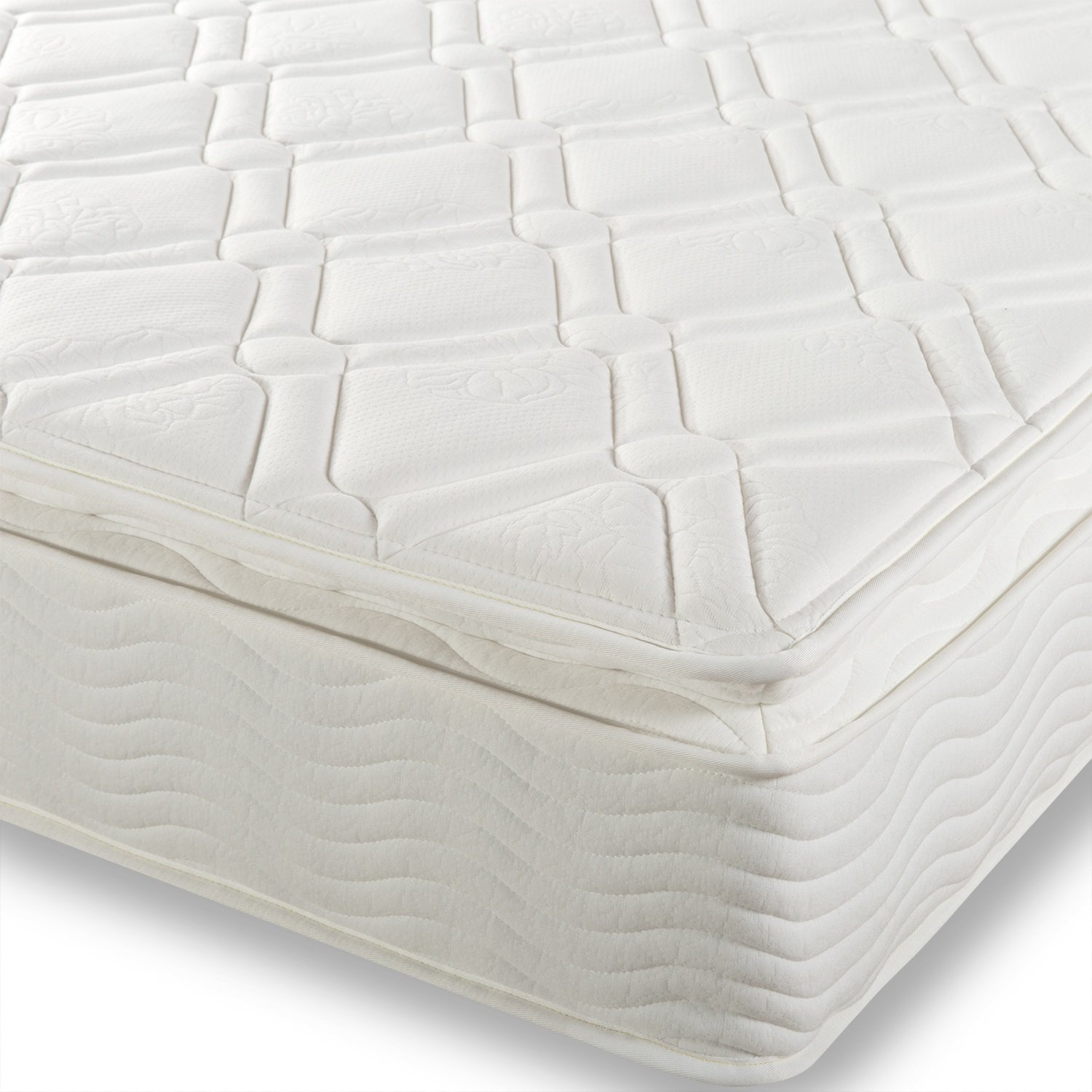 Amazon Night Therapy Spring 10 Inch Pillow Top Mattress Twin