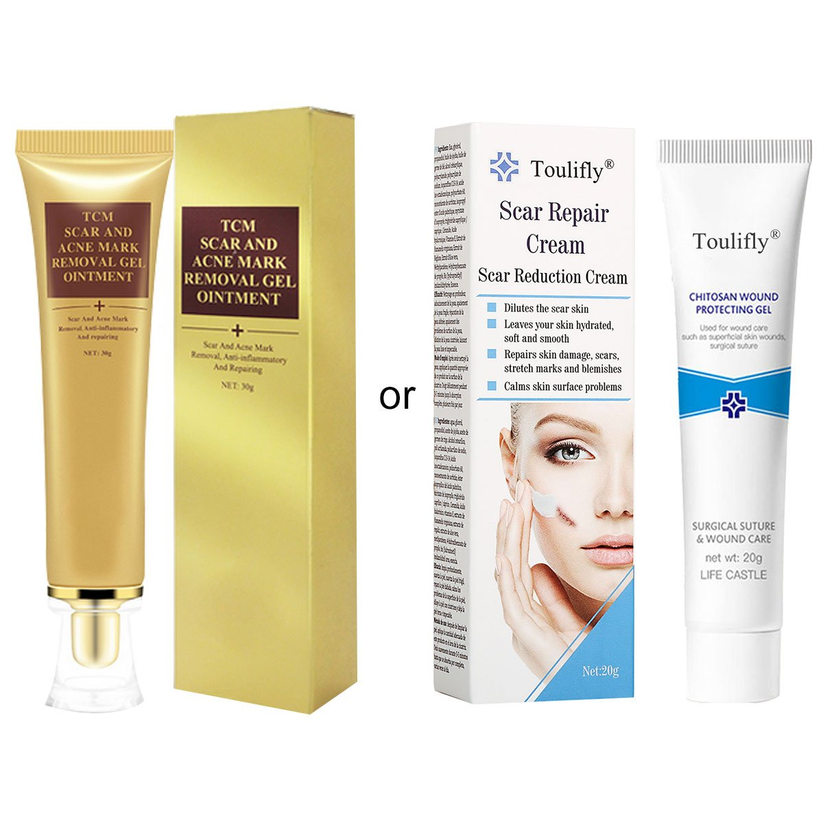 Cream for scars: which one to prefer