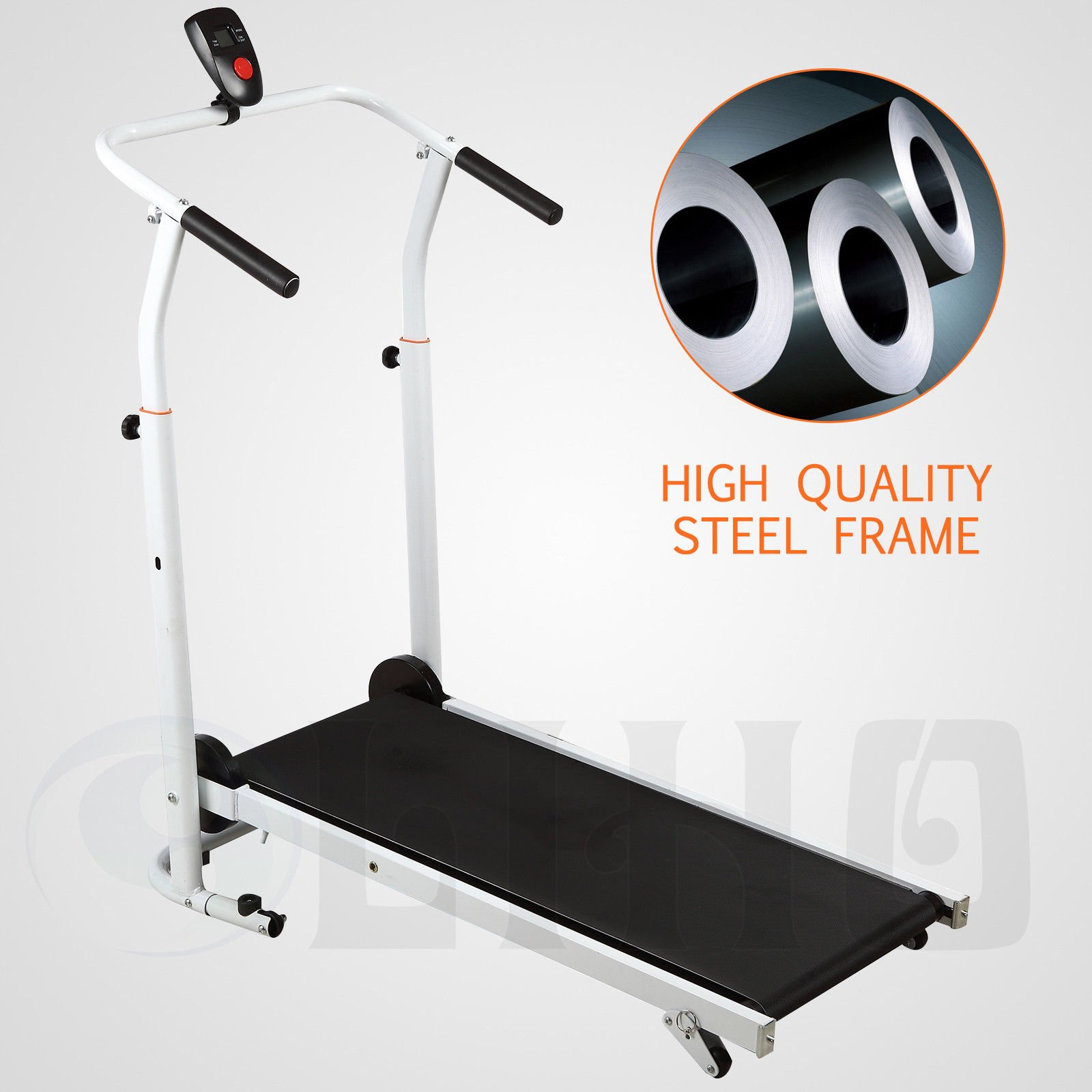 Senrob Folding Manual Treadmill with adjustable Incline Compact&Portable for Home,office by Senrob