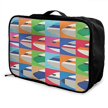 Amazon.com: Bolsa de viaje para avión, ligera, impermeable ...