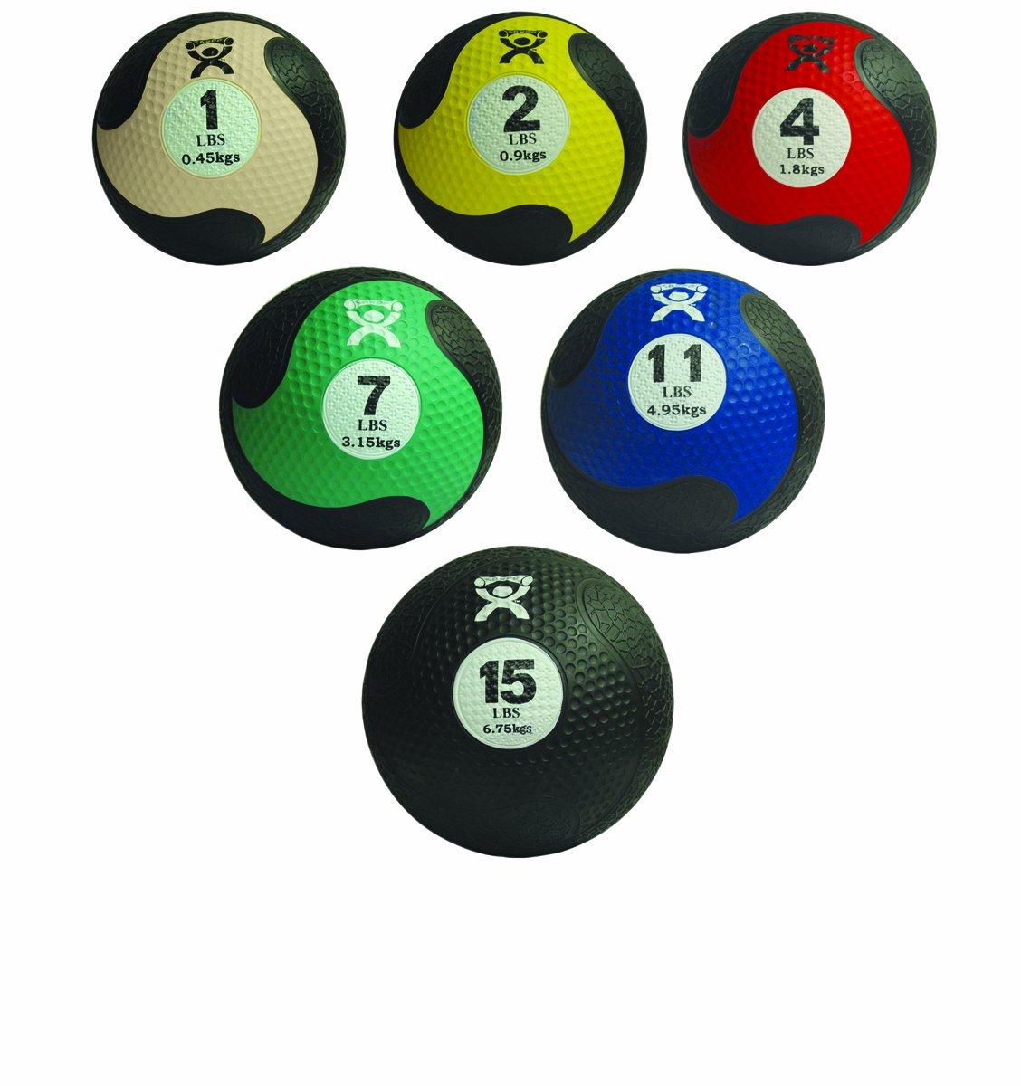 CanDo 10-3146 Firm Medicine Ball, 5-piece Set
