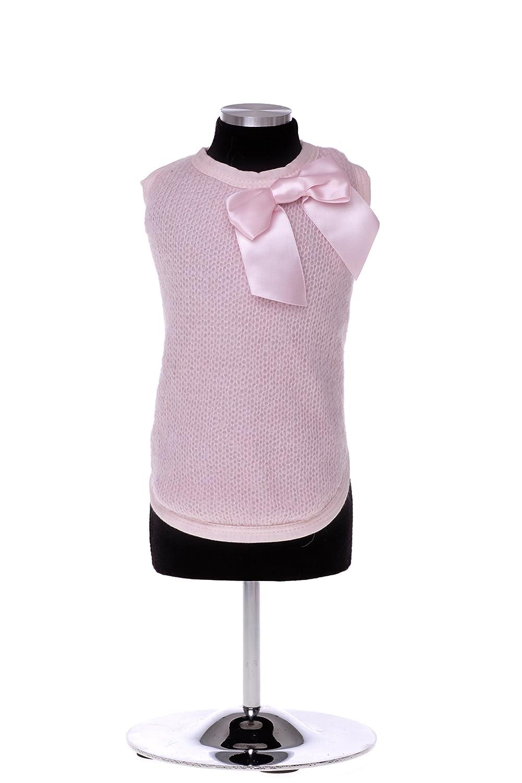 Trilly Tutti Brilli Bonnie Warm T-Shirt mit Schleife Pin, Medium, Rosa