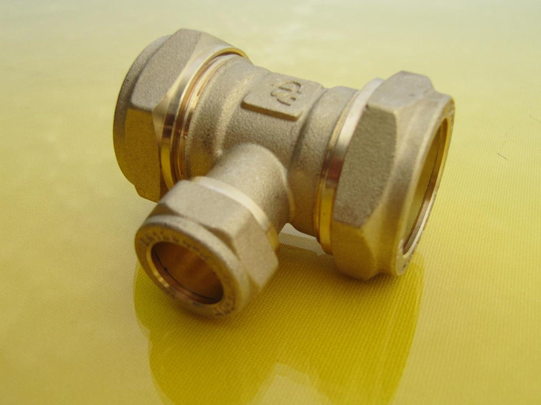 Latón Tubo Anillos 15mm Para 108mm Tubo Anillo Perchas-unistruct