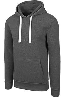 fccea0992b8 JC DISTRO Mens Hip Hop Basic Unisex Pullover Sweatshirts Hoodie Jacket