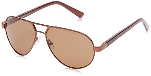 Sunoptic Lunettes Pilote Homme - Marron - Coffee/Brown - FR : Taille unique (Taille fabricant : One Size) 6usmjo9