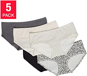 Carole Hochman Ladies 5-pack Hipster Panty