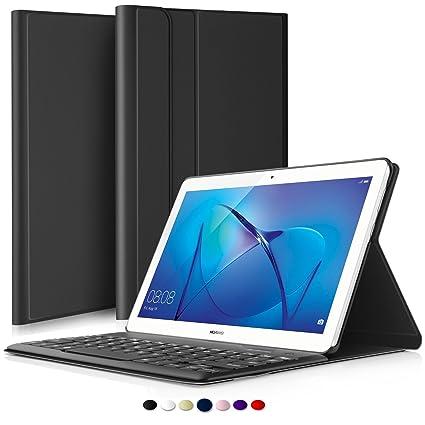 finest selection 9c092 f2ee7 IVSO Huawei Mediapad T3 10, 9.6 Wireless Keyboard: Amazon.in ...