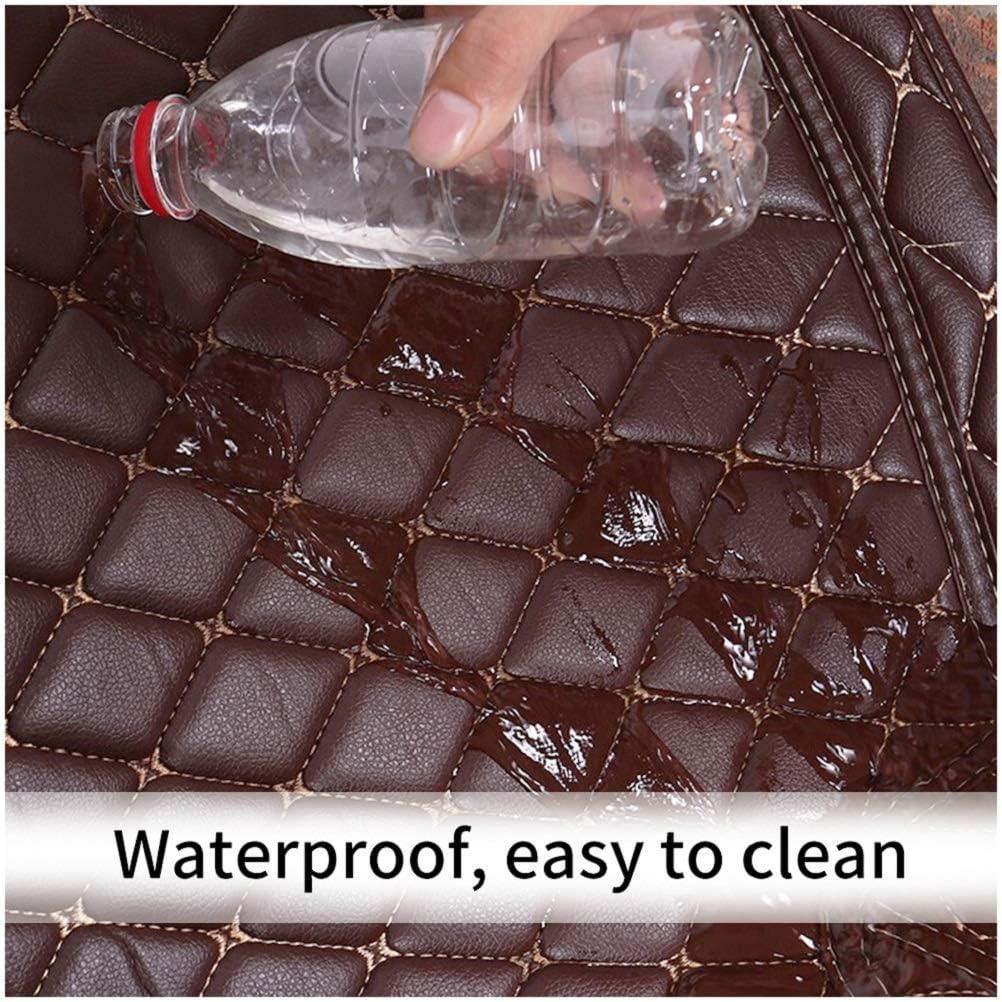Car Custom Floor Mats for Audi Q5 2018-2020 Luxury Leather Waterproof Anti-Slip Full Coverage Liners Complete Set
