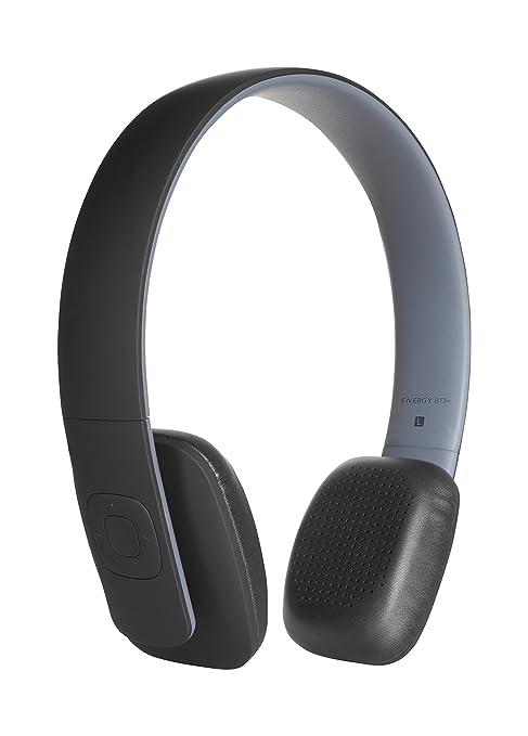 Energy Sistem BT3+ - Auriculares con micrófono (control remoto, Bluetooth 4.0) color negro