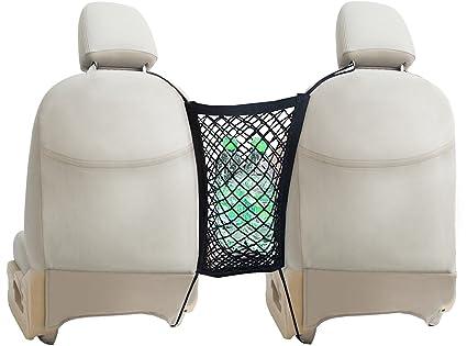 Car Seat Net Organizer By Lebogner   Auto Backseat Net Storage Holder, Car  Armrests Seats