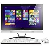 Lenovo C50-30 F0B100LAUK 23-inch All-in-One Desktop PC Intel Core i5-5200U / 2.2 GHz (2.7 GHz Turbo) Processor, 8GB RAM, 1TB HDD, (1920 x 1080) Full HD Display, Nvidia GF 820A 2GB Dedicated Graphics, USB 3.0, Card Reader, DVDRW Super Multi, Windows 10