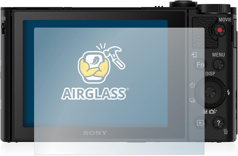 BROTECT Protector Pantalla Cristal Compatible con Sony Cyber-Shot DSC-WX500 Protector Pantalla Vidrio Dureza 9H AirGlass