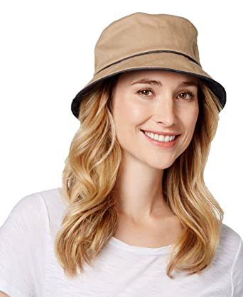 Image Unavailable. Image not available for. Color  Nine West Womens Cotton  Canvas Bucket Hat ... 208a69c4547