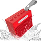 Portable Wireless Bluetooth Speaker Superior Sound 12-Hour Playtime, 66-Foot Bluetooth Range & Built-in Mic Portable Wireless Bluetooth 4.2 Speaker with Selfie Mic for iPhone, Samsung and More Black