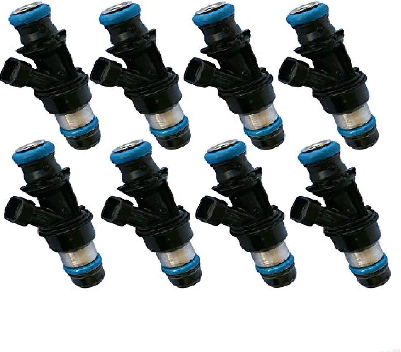 8PCs refurbished OEM Delphi fuel injectors for 2001-2006 GMC Sierra 3500 6.0L V8