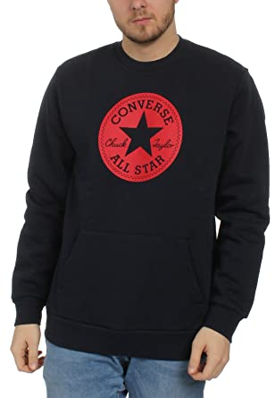Converse Herren Sweater Chuck Patch Graphic Crew 10005825