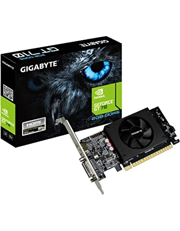 Gigabyte GV-N710D5-2GL GeForce GT 710 2GB GDDR5 - Tarjeta gráfica (GeForce