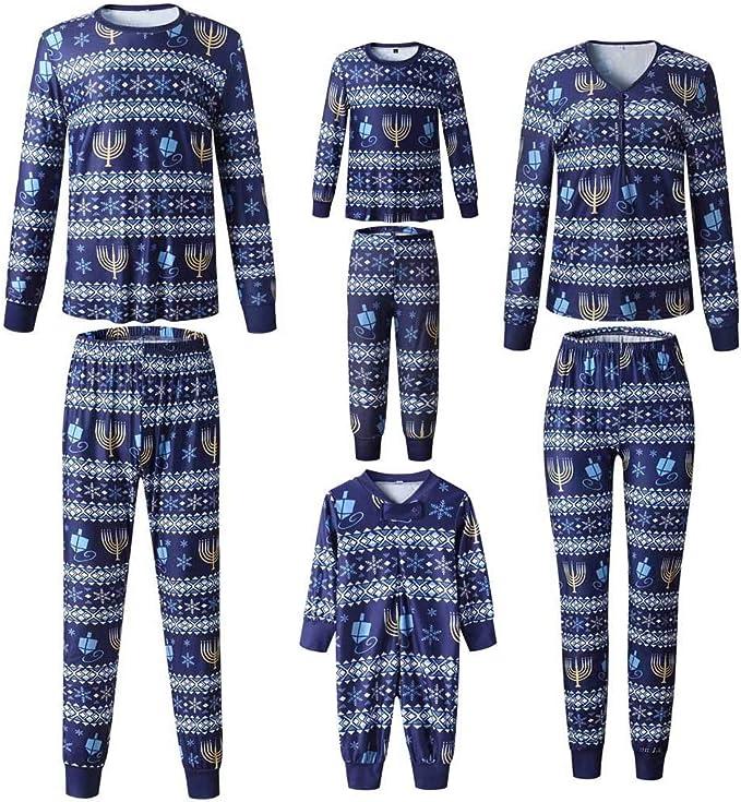 ACEBABY Pijama Unicornio Niña Pijama Niño Invierno Navidad Pijamas ...
