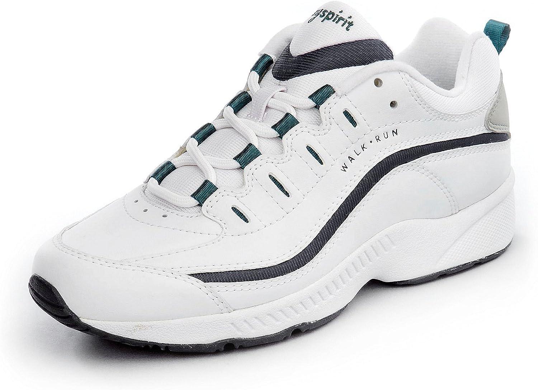 Easy Spirit Women/'s Romy WHITE//BLUE Leather fashion-sneakers