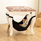 Seaskyer Pet Hammock Cat Warm Soft Hanging Bed, Cushion Cat Puppy Mat Hamster or Other Pet House Cage, Use with Chair…