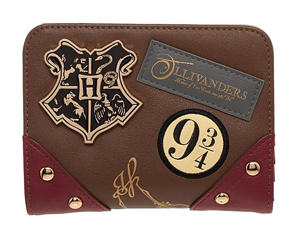 Harry Potter Women's Trunk Bi-Fold Flap Wallet bioWorld GW5MIHHPT