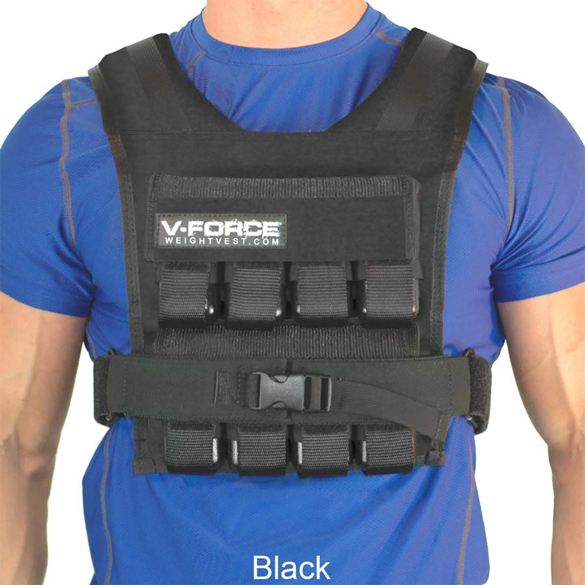 40 lb. V-FORCE (Black, 3-1/4'' narrow shoulders)