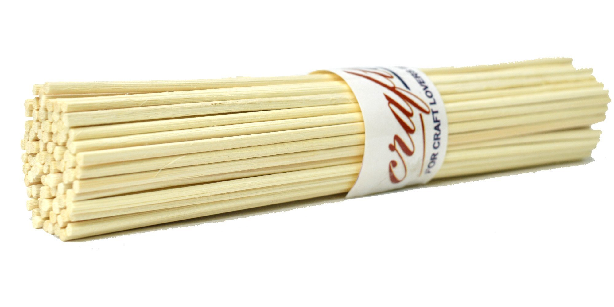 craftuno  Rattan Reed Stick 8 Inches Pack Of 100