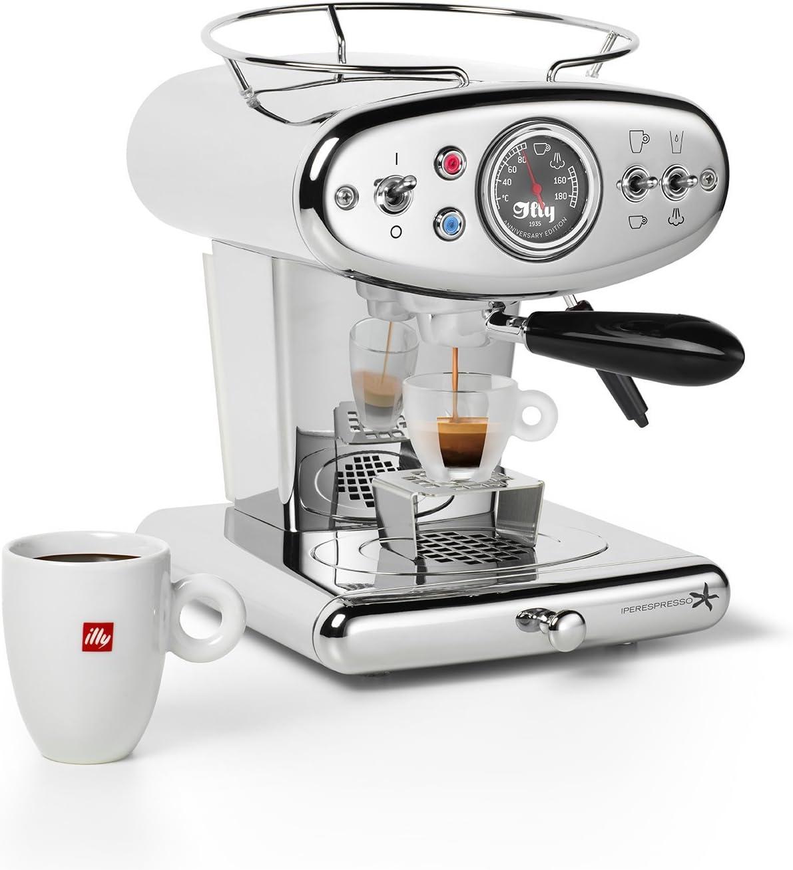 Francis Francis. Máquina de café espresso Cápsulas Iperespresso x1 Anniversary, 1.0 L rojo: Amazon.es: Hogar