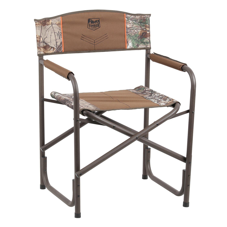Timber Ridge Viburnum Folding Director's Chair, Camouflage