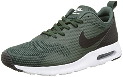 new style 6a2d3 b00ec Nike Air Max Tavas, Baskets Basses Homme, Vert (Grove Green/Black ...