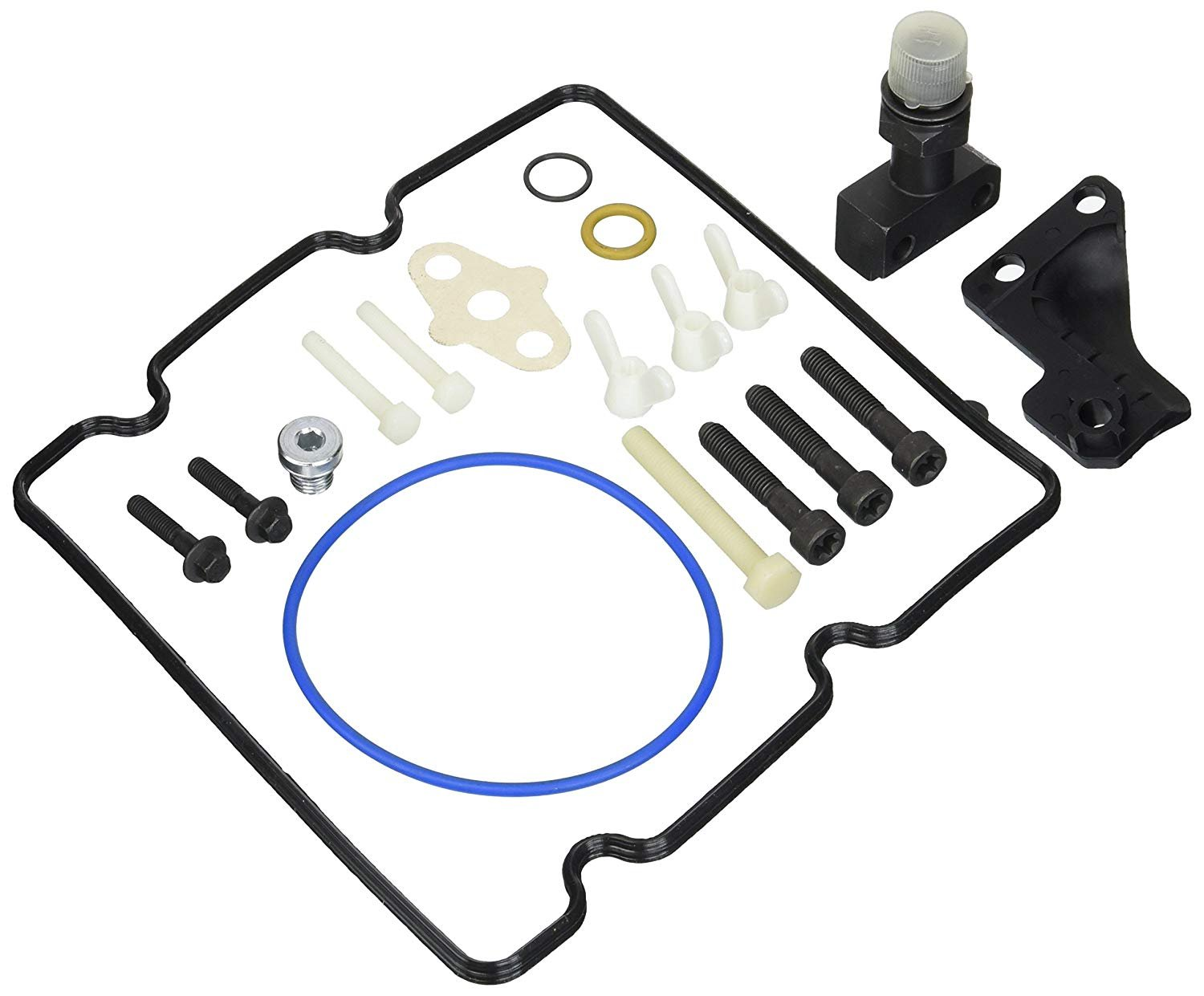 US Warehouse 4C3Z-9B246-F Fitting Update O-Ring Repair Kit Fuel Injector Pump//Fuel Injection Pump O-Ring Fit For Ford 6.0 High-Pressure Oil Pump HPOP High PSI Oil Pump by Folconroad