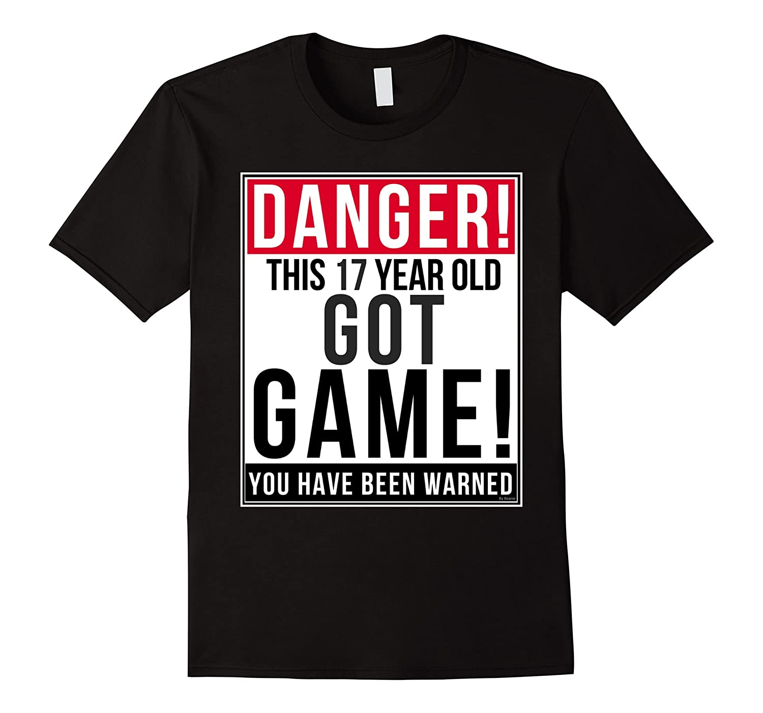 Funny 17th birthday Game T Shirt 17 Year Old Birthday Gift