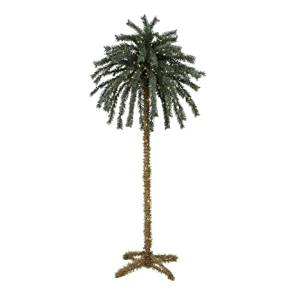 7 foot lighted christmas palm tree 4 300 lights indoor - Christmas Palm Tree Pictures