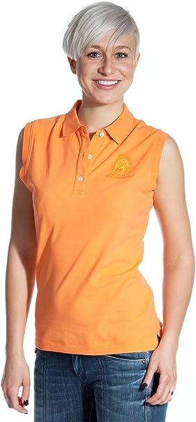 Lamborghini - Polo - para Mujer Naranja Naranja: Amazon.es: Ropa y ...