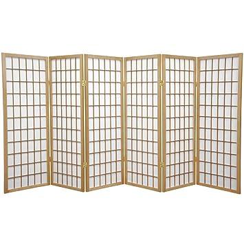 Oriental Mobel 4 Feet Fenster Scheibe Japanische Shoji Sichtschutz