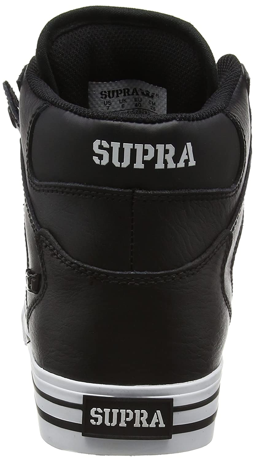 Supra Vaider Skate Shoe B011JIN0BC Medium / 11 C/D US Women / 9.5 D(M) US Men|Black/White