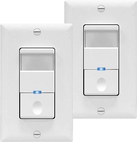 Amazon.com: Interruptor con sensor de movimiento de ...