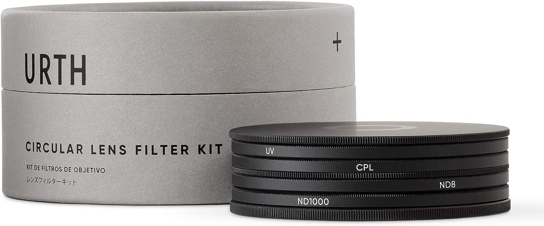 Urth x Gobe 40.5mm UV Circular Polarizing Plus+ ND1000 Lens Filter Kit CPL ND8
