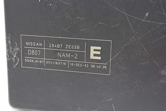 Nissan Armada Frontier Pathfinder Titan Xterra IPDM Fuse Box