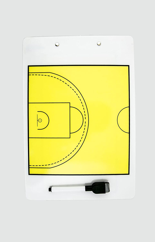 POWERSHOT/® Doppelseitiges Taktikboard Basketball 34 x 23 cm