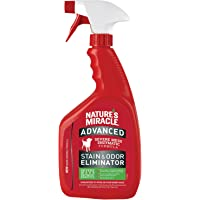 Nature's Miracle Advanced Stain and Odor Eliminator Dog for Severe Dog Messes